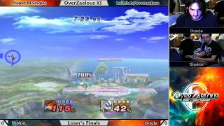 Oracle commentates his own match. Also Oracle (Lucas, Wolf) vs. Shokio (ZSS, Roy)