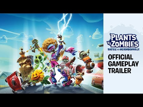 Plants vs. Zombies: Battle for Neighborville™ Official Gameplay Trailer (Founder's Edition)