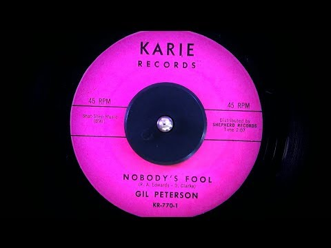Gil Peterson - Nobody's Fool (1962)