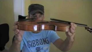 Changing the strings on your violin