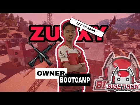 BTR ZUXXY BOSS BOOTCAMP?! SOLO VS SQUAD 25 KILSS!!! - PUBG Mobile Indonesia