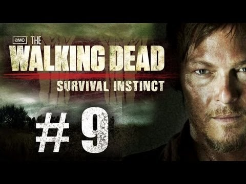 The Walking Dead Survival Instinct Gameplay Walkthrough Part 9 - Chopping Heads Off!