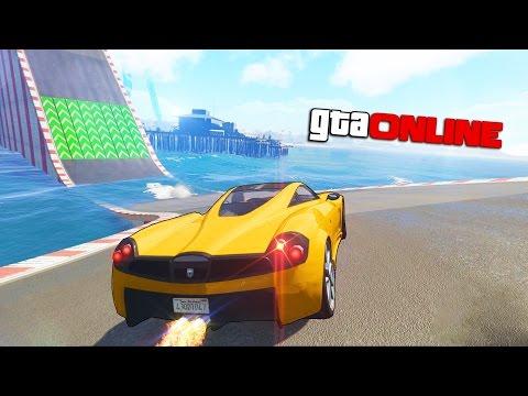 ХАРДКОРНАЯ ДОРОГА ИЗ ВОДЫ в GTA 5 ONLINE (Гонки) (видео)