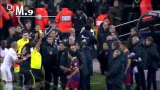 Ramos Intentionally hits Messi during extra time !! Barcelona vs Real Madrid 5-0 , El Classico