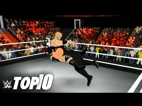 #Wr3d Roman Reigns Greatest Spears : WWE TOP 10