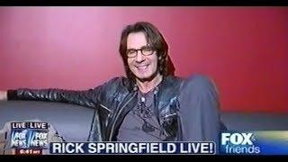 Rick Springfield - Fox and Friends 10/10/12