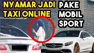 Video ATTA NYAMAR JADI SUPIR TAKSI ONLINE Pake Mobil SPORT!! MP3, 3GP, MP4, WEBM, AVI, FLV April 2018