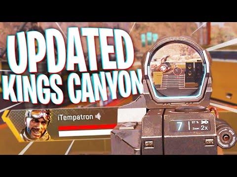 Kings Canyon UPDATED! - Apex Legends Season 7 Mirage Voyage