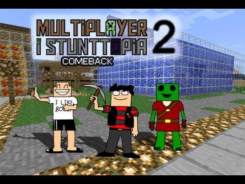 Minecraft Multiplayer i Stunttopia - S2 - Del 1