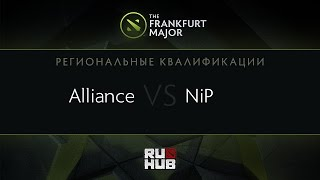 NIP vs Alliance, game 2