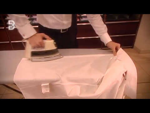 Wie bügelt man ein Hemd