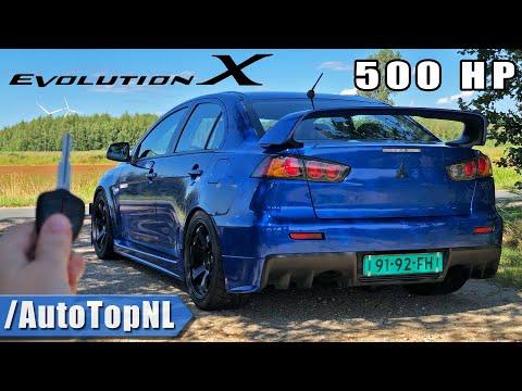 500HP Mitsubishi EVO X REVIEW by AutoTopNL