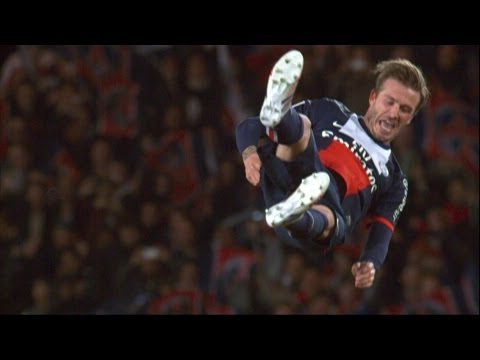 Tears for PSGs Beckham in the last game of his career_A h�ten felt�lt�tt legjobb sport vide�k
