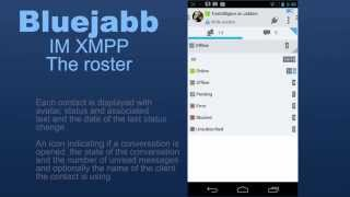 Bluejabb IM XMPP/Jabber Trial YouTube video