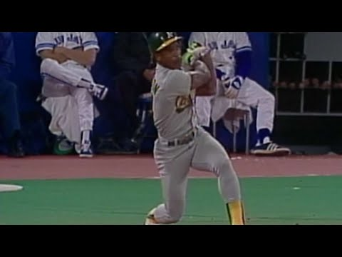 Video: Henderson hits two home runs in 1989 ALCS Game 4