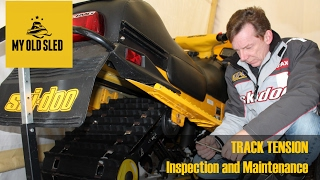 9. Snowmobile Track Inspection, Maintenance and Tension