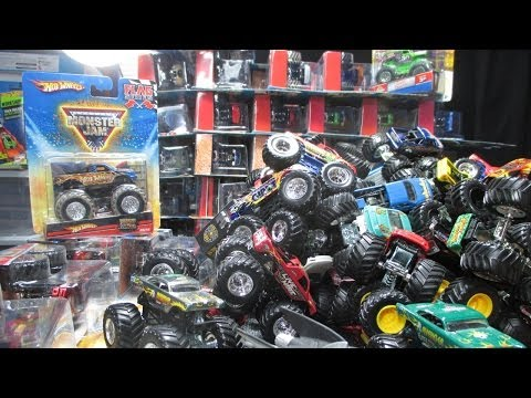 Over 150 Monster Jam Trucks! My 2014 Convention Nationals Pickups