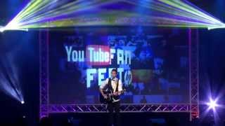 Video Joseph Vincent at YouTube FanFest powered by HP MP3, 3GP, MP4, WEBM, AVI, FLV April 2018