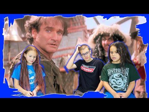 Kids REACT to Hook (1991) Trailer