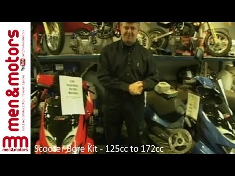 172CC - Wayne Kershaw speaks to some owners of 125cc Scooters that have been modified to improve their performance.