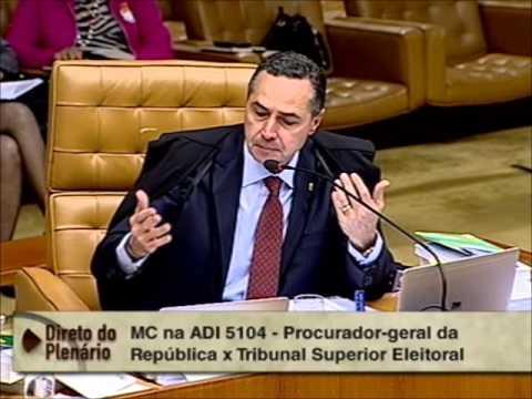 Pleno - STF suspende exigência de autorização judicial para investigação de crime eleitoral (2/2)