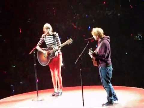 & Ed Sheeran Everything Has Changed Live Washington DC Verizon Center 2013