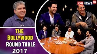 The Actors: The Bollywood Round Table 2017 with Rajeev Masand   CNN-News18