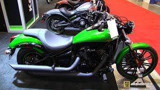4. 2018 Kawasaki Vulcan 900 Custom - Walkaround - 2018 Montreal Motorcycle Show