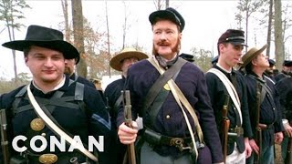 Video Conan Becomes A Civil War Reenactor - CONAN on TBS MP3, 3GP, MP4, WEBM, AVI, FLV Desember 2018