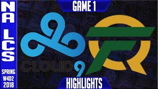 Video C9 vs FLY Highlights | NA LCS Week 4 Spring 2018 W4D2 | Cloud 9 vs FlyQuest Highlights MP3, 3GP, MP4, WEBM, AVI, FLV Agustus 2018