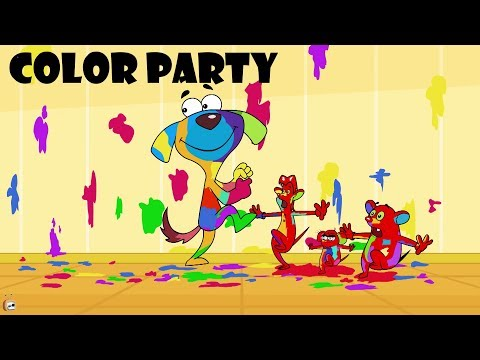 Rat-A-Tat |'Doggie Bandmaster & Three Mice Color Party Cartoons'| Chotoonz Kids Funny Cartoon Videos