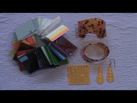 Thermoforming Plexiglass To Create Unique Jewelry