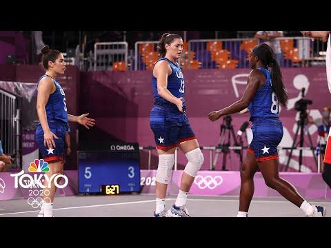 ROC vs. USA | Tokyo Olympics 2020: Women's 3x3 Basketball Highlights | NBC Sports