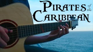 Video Pirates of the Caribbean Theme - Fingerstyle Guitar Cover MP3, 3GP, MP4, WEBM, AVI, FLV Juni 2018