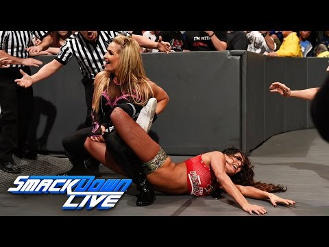 Nikki Bella vs. Natalya: SmackDown LIVE, Jan. 10, 2017 (видео)
