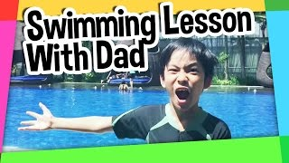 Video Swimming lesson with Dad FAIL!!!! MP3, 3GP, MP4, WEBM, AVI, FLV November 2018