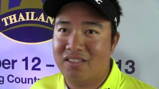 Thailand Golf Championship Preview Interview - Kiradech Aphibarnrat Of Thailand