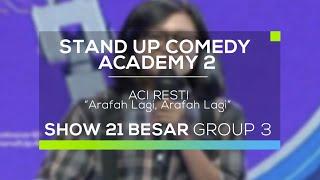 Video Aci Resti - Arafah Lagi, Arafah Lagi (SUCA 2 - 21 Besar Group 3) MP3, 3GP, MP4, WEBM, AVI, FLV Oktober 2017