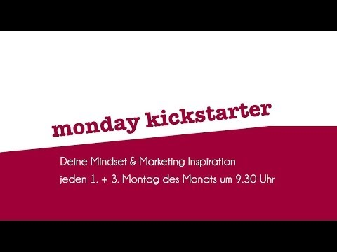 Video-Marketing – 7. Monday Kickstarter