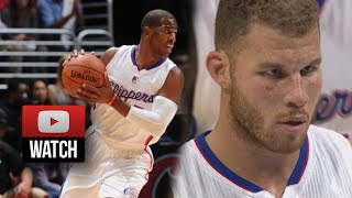 Chris Paul & Blake Griffin Highlights vs Thunder (2014.10.30) - 45 Pts, 10 Ast Total!