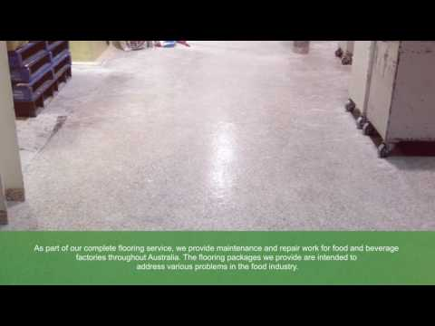 Flooring Services for Factories | Allied Finishes