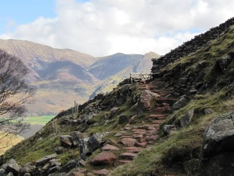 Buttermere to Red Pike via Scale Force round | cumbria  Walks