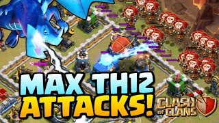 Video MAX TH12 ATTACKS - Clash of Clans Town Hall 12 Update - Electro Dragons, Lavaloon and Falcon! MP3, 3GP, MP4, WEBM, AVI, FLV Juni 2018