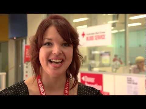 SA Universität Blut Challenge - University of South Australia und das Rote Kreuz