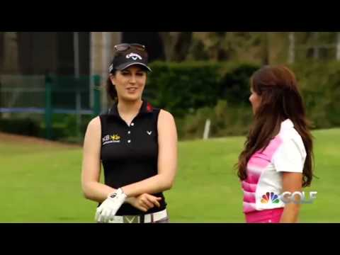 Playing Lessons, Golf Channel, Episode 4 Sandra Discussing her Win with Holly