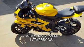8. 2008 YAMAHA YZFR6