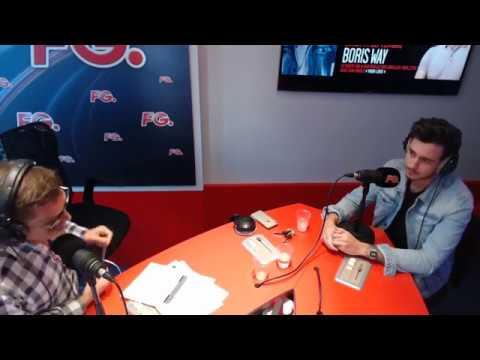 BORIS WAY en interview sur Radio FG dans l'HappyHour de Antoine BADUEL