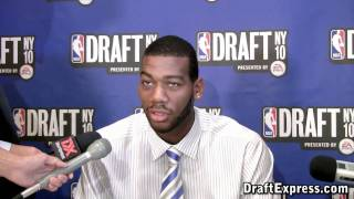 Greg Monroe - 2010 NBA Draft Media Day - DraftExpress