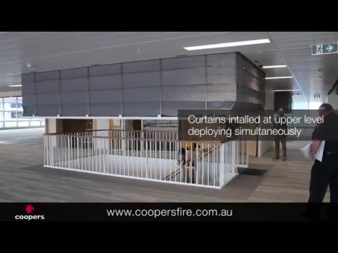 Peoples Choice Credit Union - Concertina Fire Curtain