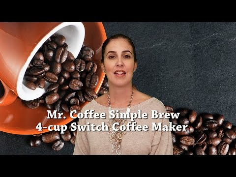 Mr  Coffee Simple Brew 4 cup Coffee Maker
